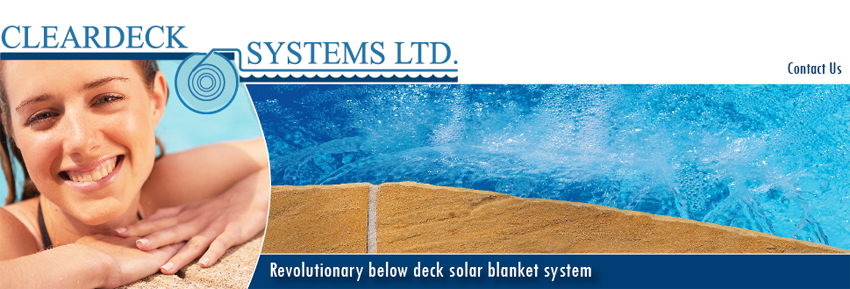 cleardeck pool cover